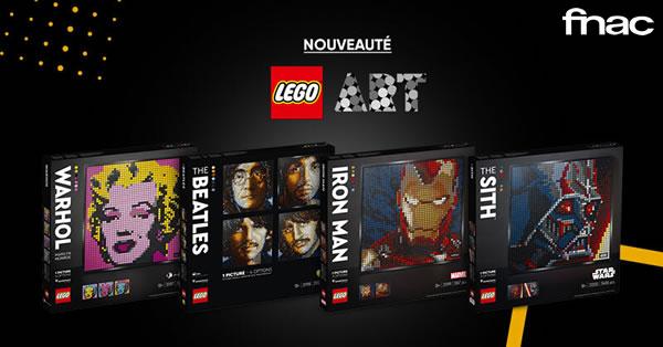 Nouvelles mosaïques LEGO Art : déjà en précommande sur Fnac.com et Amazon