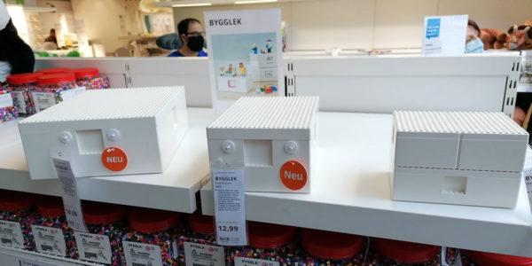 LEGO BYGGLEK par IKEA : premiers visuels des produits issus de la collaboration entre les deux marques