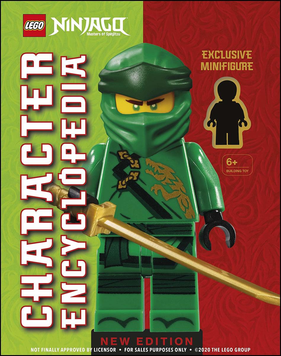 ▷ Nouveau livre à paraître en 2021 : LEGO Ninjago Character