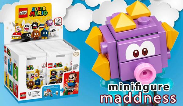 Minifigs série 20 et personnages LEGO Super Mario en sachet : les offres de l'été chez Minifigure Maddness