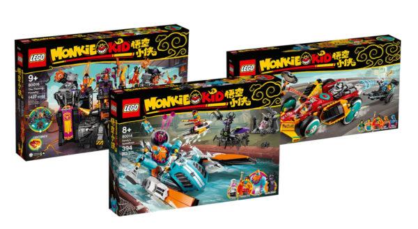 Deuxième vague dans la gamme LEGO Monkie Kid : les visuels officiels sont disponibles