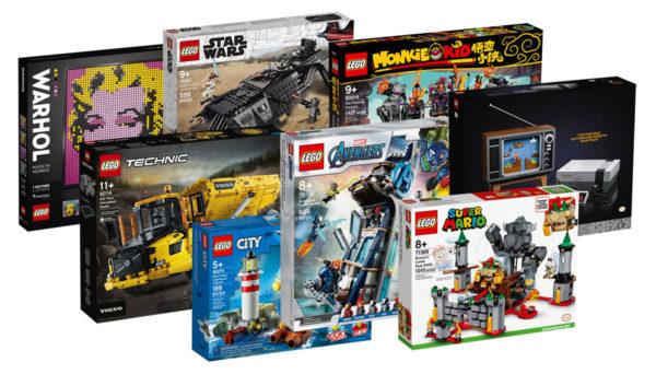 Sur le Shop LEGO : Les nouveautés du mois d'août 2020 sont disponibles