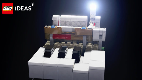 LEGO Ideas 21323 Grand Piano : premier teaser