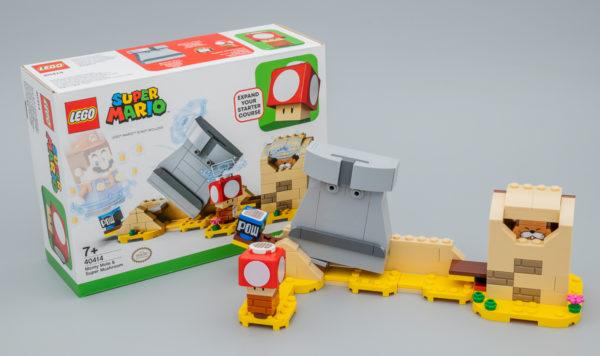 Très vite testé : LEGO Super Mario 40414 Monty Mole & Super Mushroom Expansion Set (GWP)