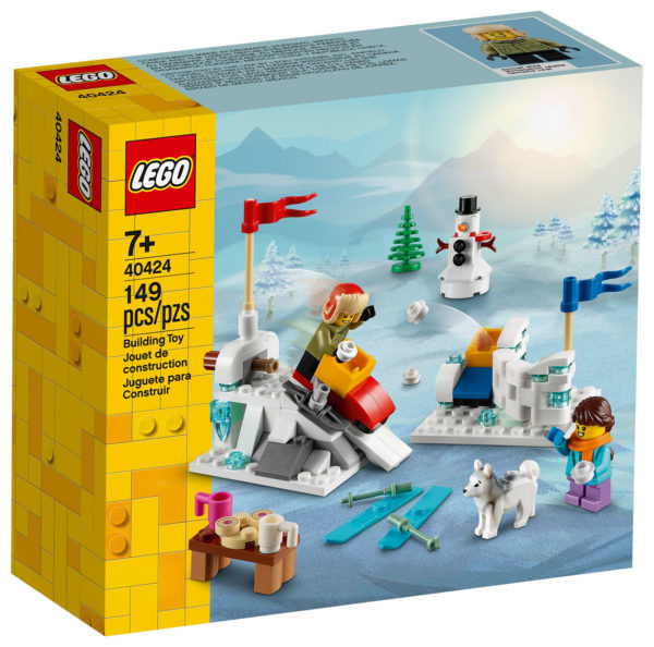 LEGO 40424 Winter Snowball Fight : le set est enfin disponible sur le Shop