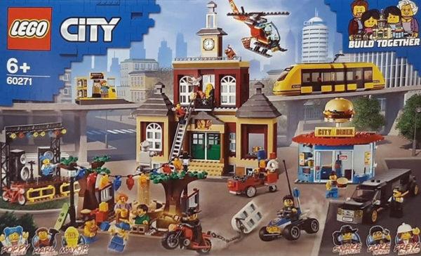 Nouveauté LEGO CITY 2020 : premier visuel du set 60271 Main Square