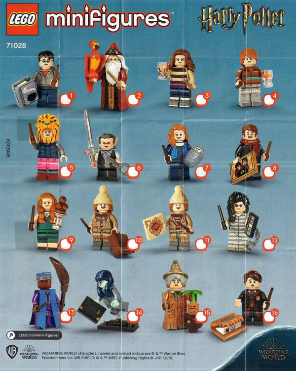 71028 LEGO Harry Potter Collectible Minifigures Series 2
