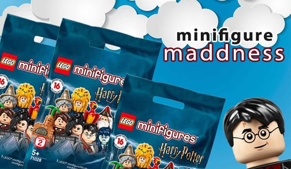 Chez Minifigure Maddness : Précommandes ouvertes pour les boites de minifigs 71028 Harry Potter Série 2