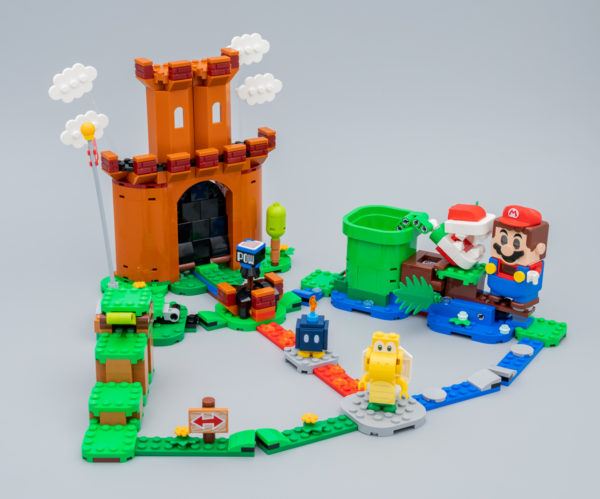 Très vite testé : LEGO Super Mario 71362 Guarded Fortress Expansion Set