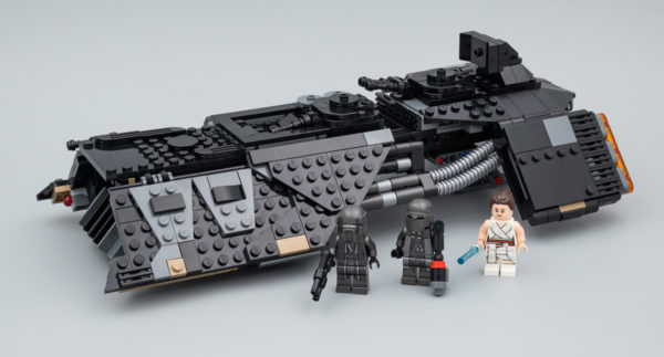 Très vite testé : LEGO Star Wars 75284 Knights of Ren Transport Ship