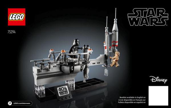 LEGO Star Wars 75294 Bespin Duel : Le livret d'instructions est en ligne