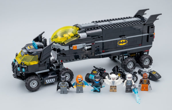 Très vite testé : LEGO DC Comics 76160 Batman : Mobile Bat-Base