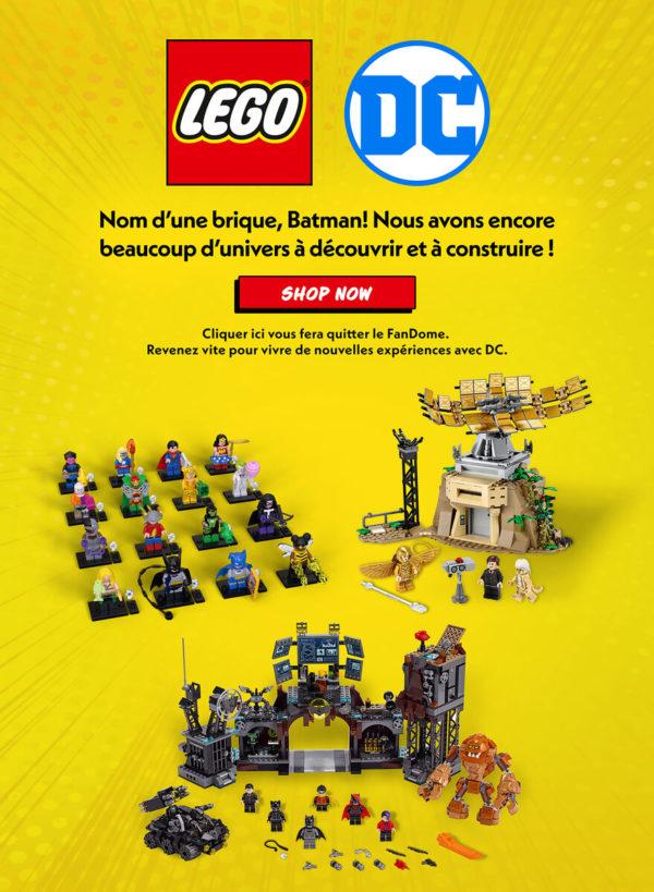 77906 lego dc comics wonder woman exclusive dc fandome 2020 france
