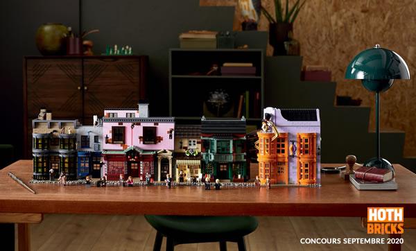 Concours : Un exemplaire du set LEGO Harry Potter 75978 Diagon Alley à gagner !