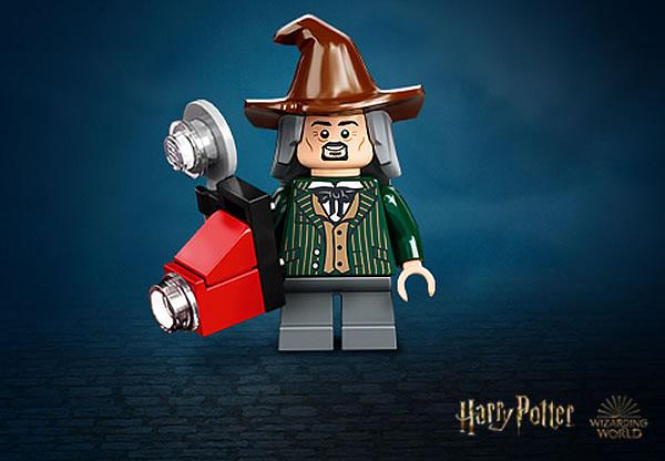 LEGO Harry Potter 75978 Diagon Alley - Daily Prophet Photographer minifigure