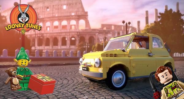 Ghostbusters Ecto-1, Colisée de Rome, Clubhouse des elfes, minifigs Looney Tunes : les rumeurs du moment