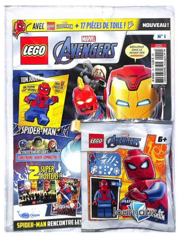 Magazine LEGO Marvel Avengers #1