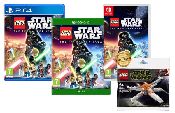Chez Micromania : Un polybag offert pour l'achat du jeu vidéo LEGO Star Wars The Skywalker Saga