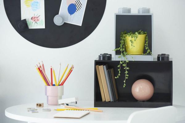 Du lifestyle pour ton chez toi : nouvelles étagères empilables LEGO