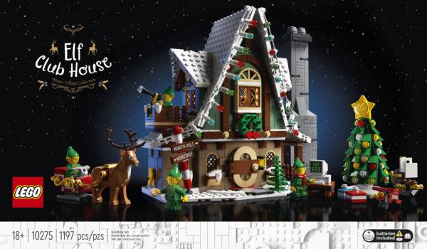 LEGO Winter Village 10275 Elf Club House : Tout ce qu'il faut savoir