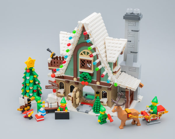 Très vite testé : LEGO Winter Village 10275 Elf Club House