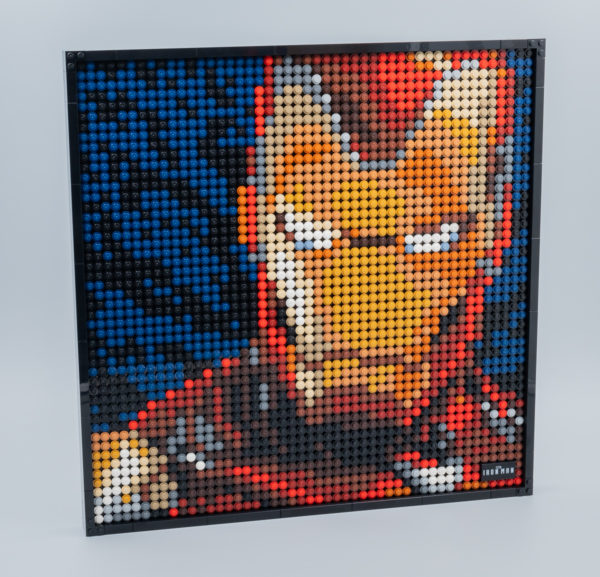 Très vite testé : LEGO Art 31199 Marvel Studios Iron Man