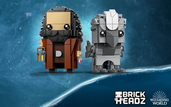 LEGO Harry Potter BrickHeadz 40412 Hagrid & Buckbeak