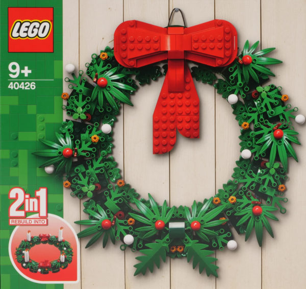 Sets LEGO 40425 Nutcracker et 40426 Christmas Wreath 2-in-1 : premiers visuels