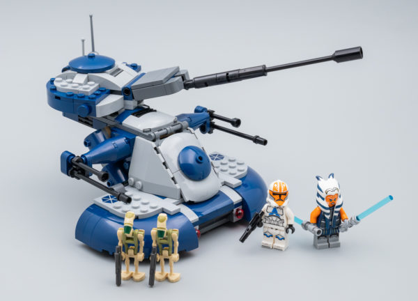 Très vite testé : LEGO Star Wars 75283 Armoured Assault Tank (AAT)