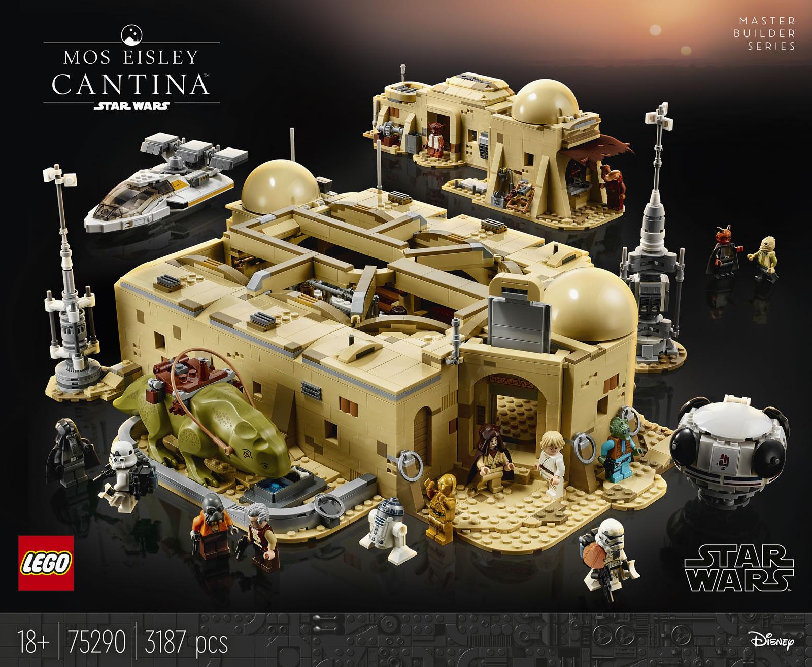 lego star wars 75290 mos eisley cantina master builder