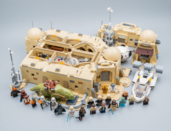 Vite testé : LEGO Star Wars 75290 Mos Eisley Cantina