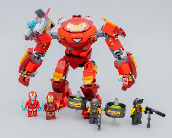 Très vite testé : LEGO Marvel Avengers 76164 Iron Man Hulkbuster Versus A.I.M. Agent