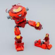 76164 Iron Man Hulkbuster Versus A.I.M. Agent