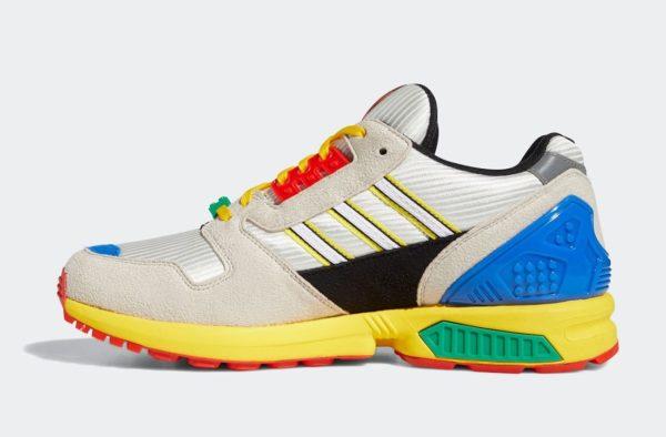 LEGO x Adidas ZX 8000 : les visuels officiels sont disponibles