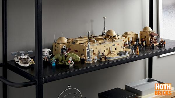 Concours : Un exemplaire du set LEGO Star Wars 75290 Mos Eisley Cantina à gagner !