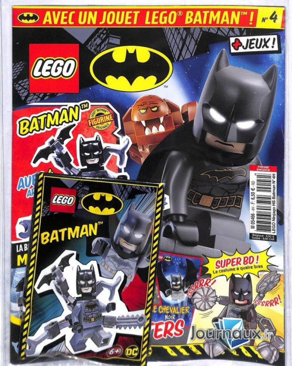 Magazine LEGO Batman n°4