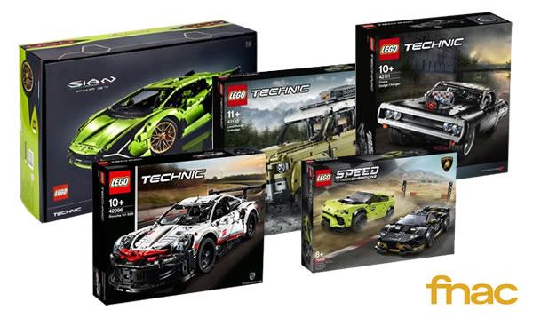 LEGO Car Festival sur FNAC.com : 50% de réduction sur le 2ème set LEGO acheté