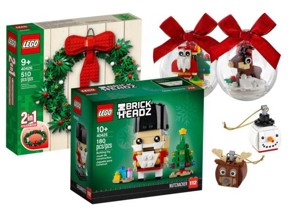 """Nouveautés LEGO """"Seasonal"""" 2020 : les visuels officiels des sets de fin d'année sont disponibles"""