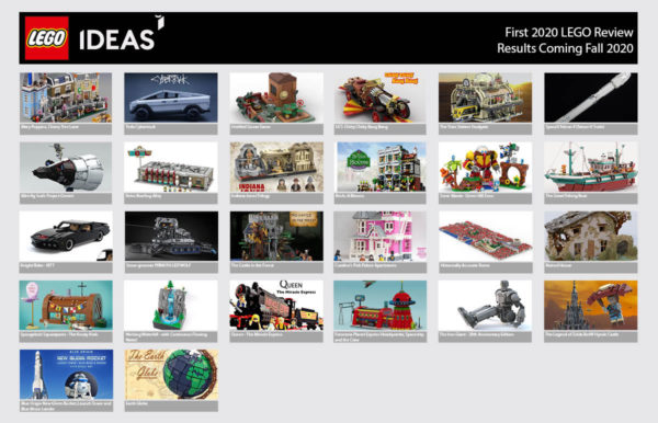 lego ideas first review phase 2020 results coming soon