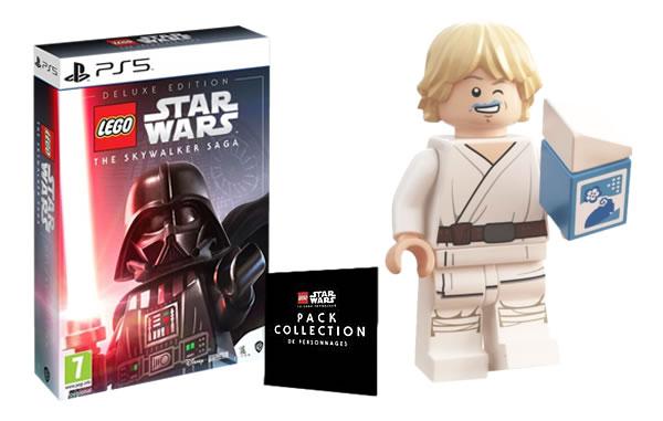 Chez Cdiscount : LEGO Star Wars The Skywalker Saga sur PS5 en précommande