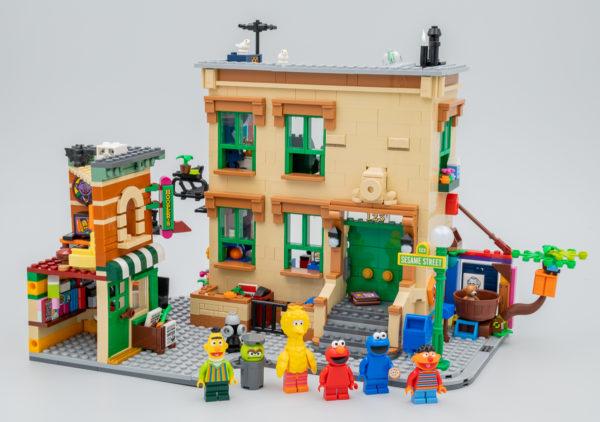 Très vite testé : LEGO Ideas 21324 123 Sesame Street