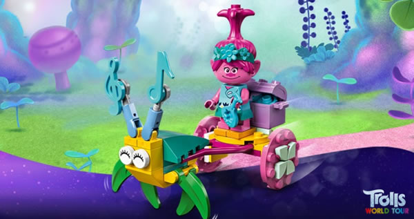 LEGO Trolls World Tour 30555 Poppy's Carriage