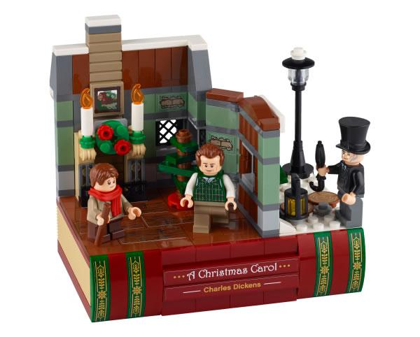 LEGO 40410 Charles Dickens Tribute : premier visuel officiel du prochain set offert chez LEGO