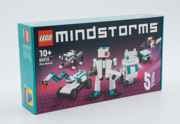 Très vite testé : LEGO Mindstorms 40413 Mini Robots (GWP)