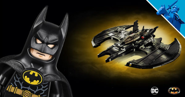 Sur le Shop LEGO : Le set DC Comics 76161 1989 Batwing est disponible
