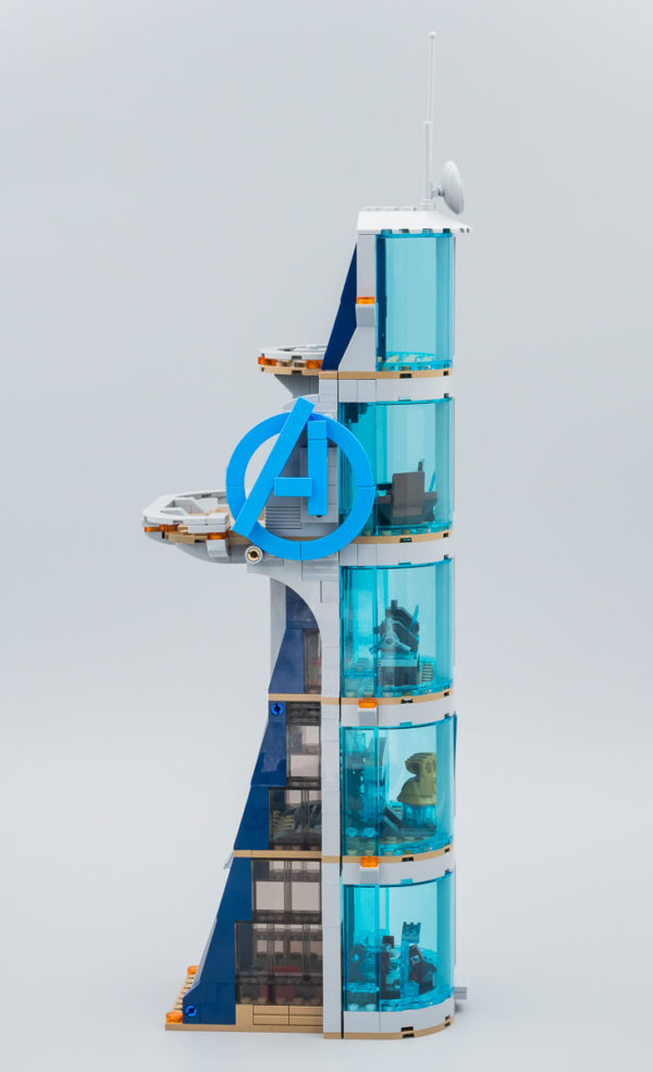 76166 Avengers Tower Battle