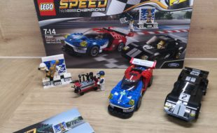 Lego speed champion 75881 Ford GT et Ford GT 40