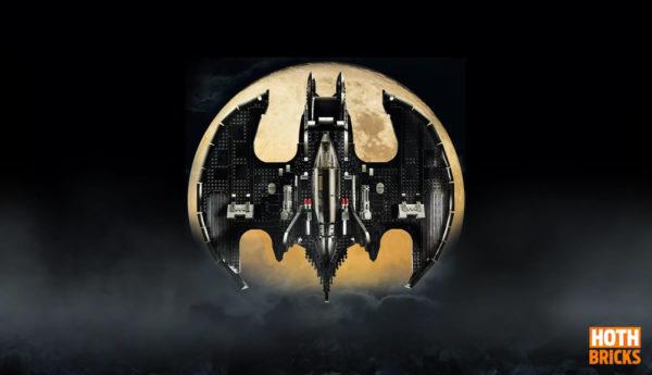 Concours : Un exemplaire du set LEGO DC Comics 76161 1989 Batwing à gagner !
