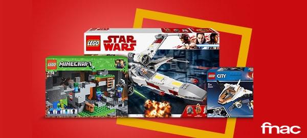 FNAC.com : 20% de réduction immédiate sur une sélection de sets LEGO