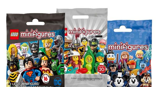 LEGO Collectible Minifigures Series : bientôt la fin du sachet classique ?